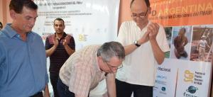 Passalacqua participó de la entrega de contribuciones a instituciones de desarrollo ecológico