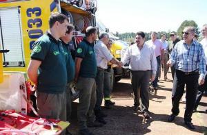 Manejo del Fuego: Misiones cuenta con el mejor centro de capacitación de brigadistas del país