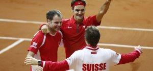 Federer le dio a Suiza la Copa Davis y logró así el único título grande que le faltaba