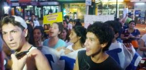 Se movilizaron en Eldorado para pedir justicia por la muerte de Esteban Peralta