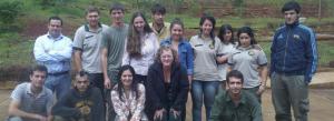 Capacitación a estudiantes de Guardaparques en procedimientos administrativos ambientales
