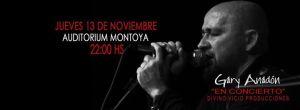 Gary Anadón se presenta el próximo jueves en el Montoya