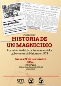 Brindarán una charla sobre Irrazábal y Ayrault, a 41 años de la tragedia que terminó con sus vidas