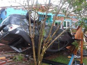 Closs garantizó la asistencia del Estado para los afectados por el temporal