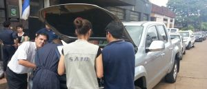 Secuestraron una camioneta que circulaba por Posadas con papeles truchos