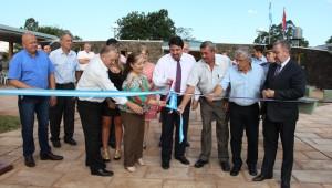 Closs culminó la semana con una intensa agenda de inauguraciones en el interior provincial
