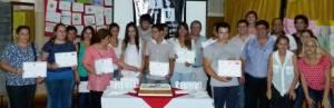 Wanda: El ISTU entregó certificados a los alumnos que culminaron sus estudios