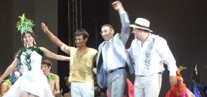Luis Marinoni: El Toro Candil descansó un ratito y ahora prepara a los bailarines para el Festival del Chamamé en Corrientes