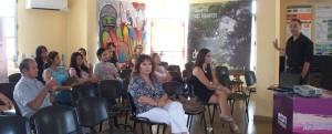 """Simposio del Festival: """"La ciudad y toda la provincia está pasando por un momento de producción artística importante"""", dijo Luis Marinoni"""