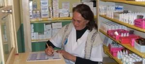María Ibarrola hace 30 años que ejerce la enfermería en colonia Terciado Paraíso