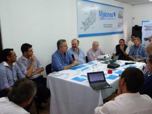 Passalacqua presidió reunión con el equipo técnico de Misiones en Desarrollo