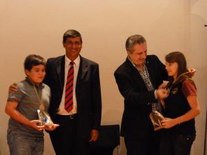 Premiaron a personas y organizaciones que se destacaron en la defensa de los derechos de niños