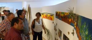 El gobernador Closs inauguró muestra de arte mbya