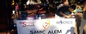 Alem: el SAMIC realiza campaña de prevención de diabetes