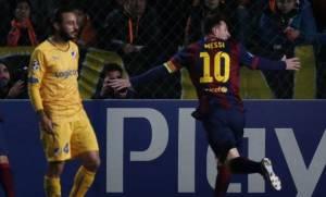 Messi volvió a hacer tres goles y tiene nuevo récord: es el máximo goleador histórico de la Champions