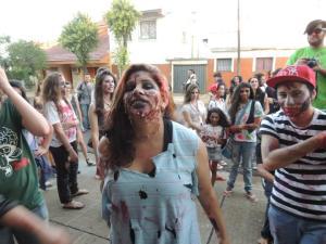 Este sábado realizarán la tercer Zombie Walk en Posadas