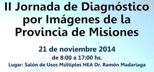 Realizarán la II Jornada de Diagnóstico por Imágenes de la Provincia de Misiones