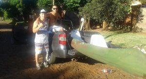 Continúa la búsqueda del joven desaparecido en el Paraná, frente a El Brete de Posadas