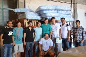 La facultad de Ingeniería recibió equipamiento para los estudiantes que viven en el albergue