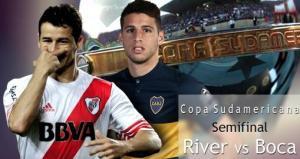 Por la Sudamericana River y Boca juegan en Núñez, a todo o nada