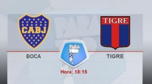 Boca juega con Tigre con la cabeza puesta en la Copa Sudamericana
