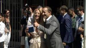 Se casaron Jésica Cirio y Martín Insaurralde...¡Enamorados!