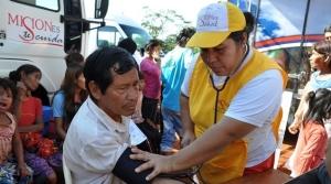 Otros diez miembros de comunidades mbya guaraní se incorporaron como promotores de salud al programa de Médicos Comunitarios