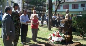 En el acto por el natalicio, Flor del Desierto adelantó que irá por más reconocimientos del General Andresito Guacurarí