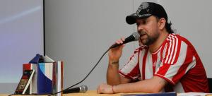 Uno de los representantes de la novela negra nacional en la Expo Feria Regional del Libro