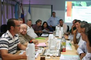 El directorio del INYM recibió a legisladores misioneros