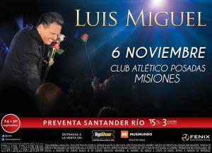 El recital de Luis Miguel por ahora no se suspende