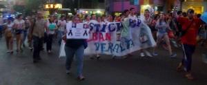 Jóvenes de Eldorado realizarán nueva marcha pidiendo justicia por Esteban