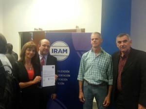 La empresa misionera Yerbatera.com recibió el certificado IRAM