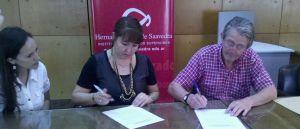 El Instituto Saavedra firmó convenio de capacitación con la CELO