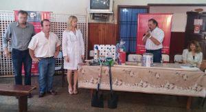 El Instituto Saavedra entregó infraestructura de un vivero a una escuela de San Antonio