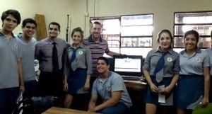 Los alumnos del Santa Catalina utilizarán el voto electrónico para elegir a sus autoridades