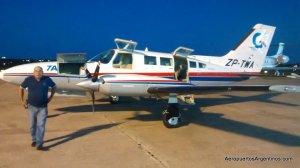 Comenzaron vuelos de Asunción a Encarnación