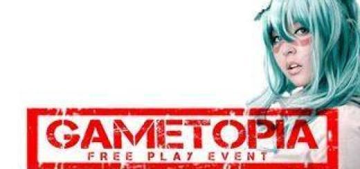 Gametopia: Un parque de diversiones electrónico