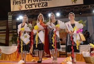 Marilyn Weiss fue elegida como Reina Provincial de la 39ª edición de la Fiesta de la Cerveza en Alem