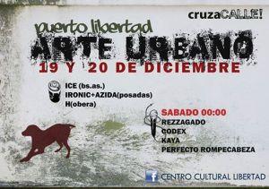 Este fin de semana Puerto Libertad se llenará de arte urbano con una nueva edición de CruzaCalle