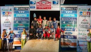 El Rally Argentino distinguió a la Asociación Misionera de Pilotos y Navegantes