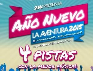 La Aventura, con Flavio Bogado, y Malparida, los escenarios elegidos para recibir el 2015 en Posadas