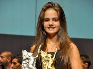 """Marianela Landi se quedó con el oro en  la primera edición de los premios """"Posadas Deportivo"""""""