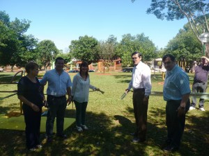 IPS instaló Plaza Saludable en Campo Viera