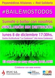 "Posadas se suma a la campaña solidaria ""Bailemos Todos"""