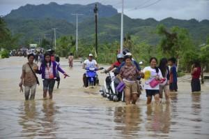 Una tormenta tropical deja al menos 35 muertos