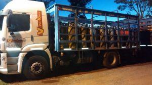 Detectaron en Misiones un camión cargado de garrafas con un valor de tres millones de pesos que se robó en Buenos Aires