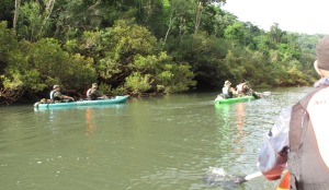 Reserva Yabotí: un control conjunto relevó el medioambiente y detectó pescadores y cazadores