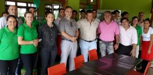 """Dobrusin: """"Vamos a trabajar  integradamente con los informantes de  Moconá y El Soberbio"""""""