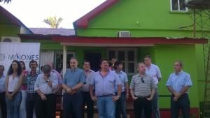 Closs entregó 110 viviendas a los afectados por la crecida del Uruguay
